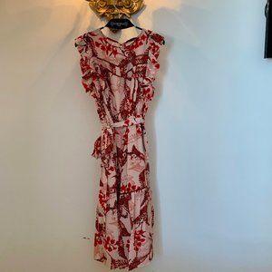*NWT* Vertigo Paris Garden Floral Ruffle Dress